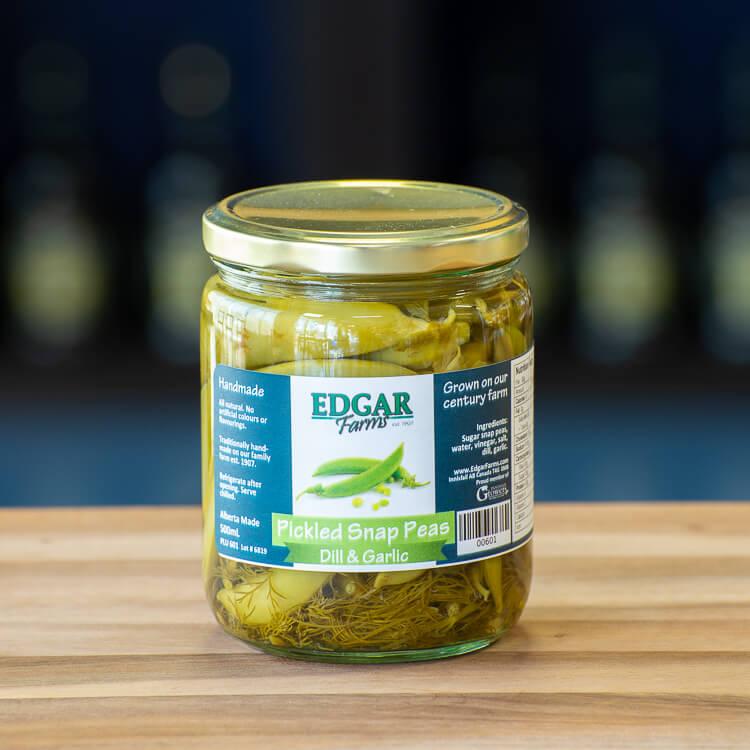 Pickled Snap Peas Edgar Farms