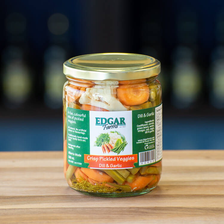 Crisp Pickled Veggies Edgar Farms