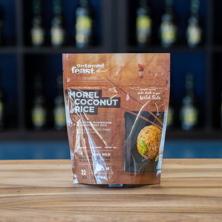Untamed Feast Morel Coconut Rice