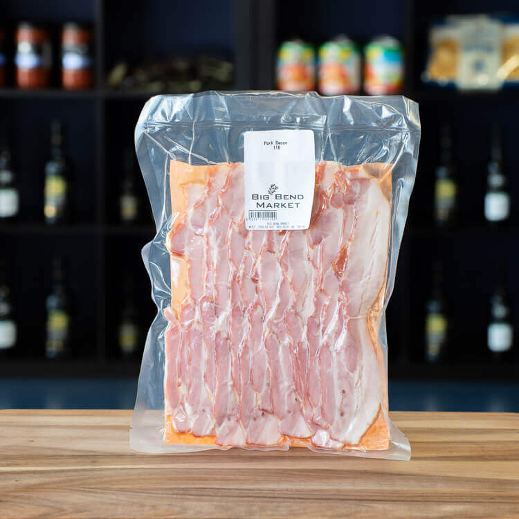 Pork Bacon Red Deer
